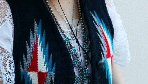 Feminine Coordinate with Native American Jewelry