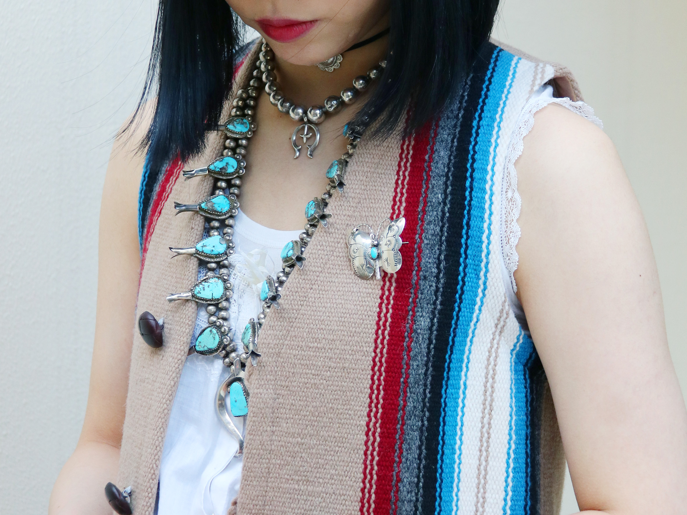Casual Coordinate with Native American Jewelry
