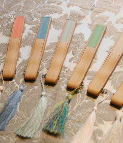 オリジナルの絹扇子
