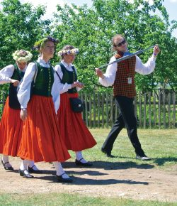 Latvian National Costume