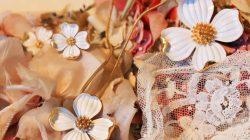 Trifari White Dogwood Jewelry