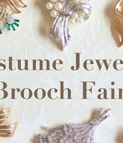 COSTUME JEWELRY BROOCH FAIR & MAINTENANCE FAIR